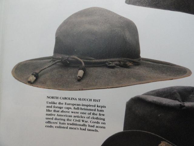 Uniforms Militaria Indian War Gar Ucv Officers Hardee Acorn Hat Cord